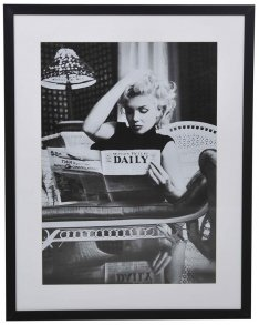 Marilyn Daily News Tavla 70x90cm