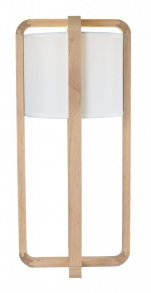 ash XL bordslampa ask natur vit