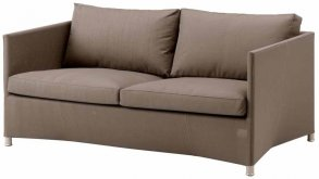 Diamond lounge soffa brun Cane-Line Tex