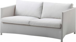 Diamond lounge soffa vit Cane-Line Tex