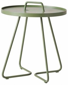 On-the-move sidobord Olive green Cane-Line