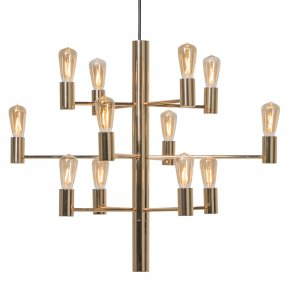 Manola Taklampa 12 LED Gold