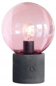 Peacebubble Bordlampa Rosa