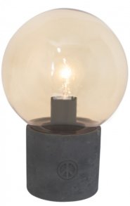 Peacebubble Bordlampa Amber