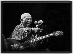 BB King Fotokonst