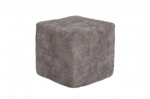 Doris Puff i mocka 40x40cm / Antique Stone