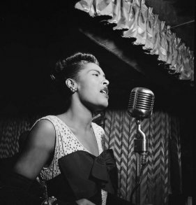 Billie Holliday Fotokonst
