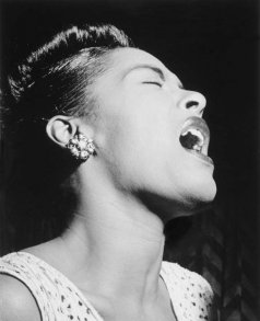 Billie Holliday 2 Fotokonst