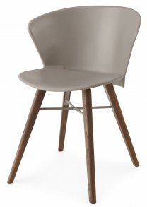 Bahia Wood Chair Taupe