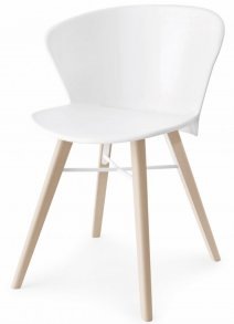 Bahia Wood Chair White