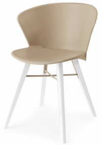 Bahia Wood Chair Nougat