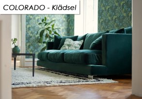 Colorado Klädsel - Divansoffa Set 4