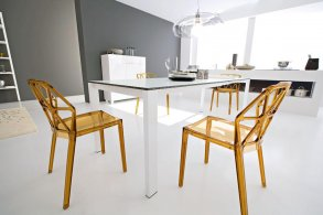 Alchemia Stol White Highgloss