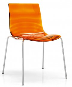 Leau Stapelstol Orange