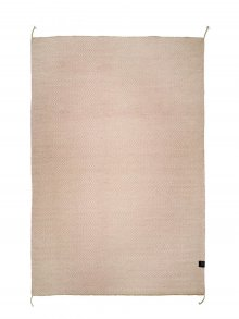 Ullmatta Herringbone Dusty Pink 200x300