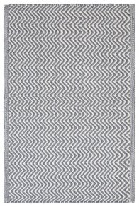 Herring Bone Inne/Utematta Charcoal Grey/Ivory