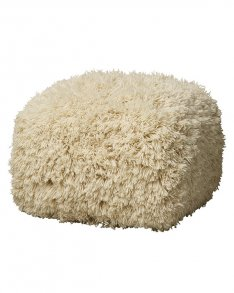 Bakara pouf off white