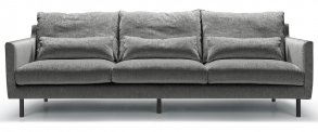 Sally 3-Sits Soffa XL Elyot Grey (ink Svankkuddar)