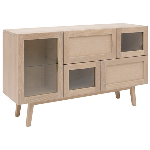 Rainbow Sideboard 133cm Blond Ask