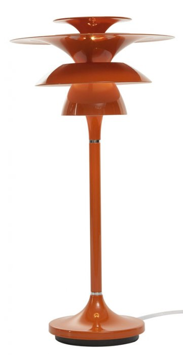 B 4286 Picasso bordlampa orange
