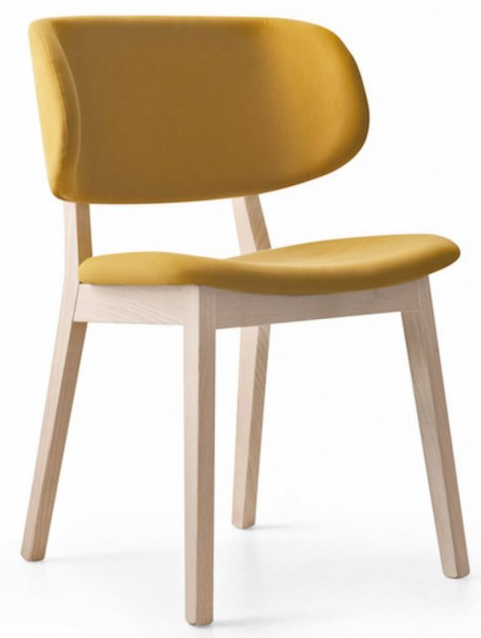 Claire Stol Tyg - Natural/Oslo Mustard Yellow