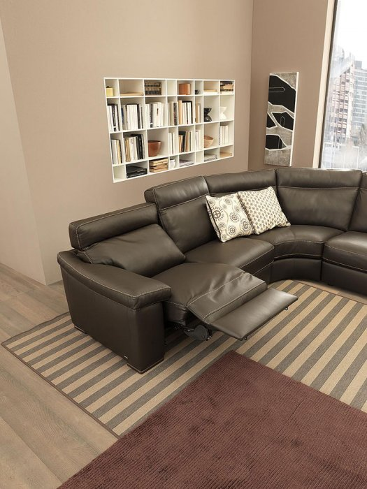 Stefano B814 3-sits Soffa med elstyrd reclinerOnore B814 3-sits Soffa med elstyrd recliner
