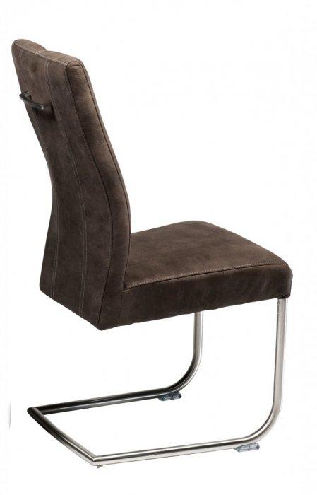 dresden stol brunt tyg borstade st lben m bler. Black Bedroom Furniture Sets. Home Design Ideas