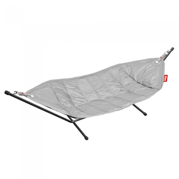 Fatboy hängmatta light grey (black rack)
