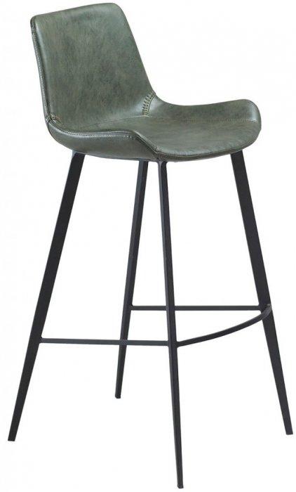 Hype Barstol Grönt Vintagekonstläder