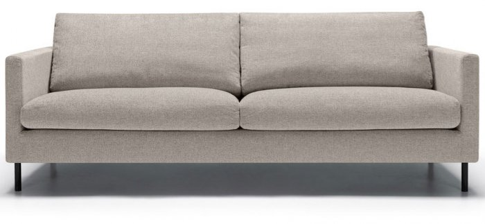 Impulse 3-sits Soffa Lux King Light Grey