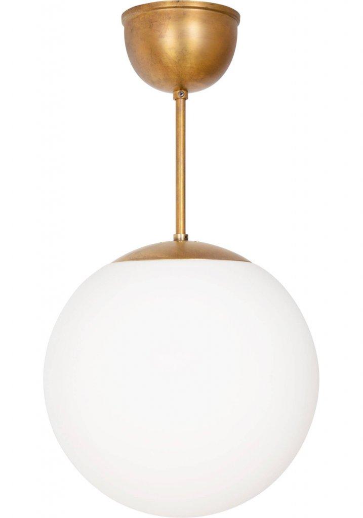 Glob Taklampa Vitt GlasKrom Taklampor Belysning