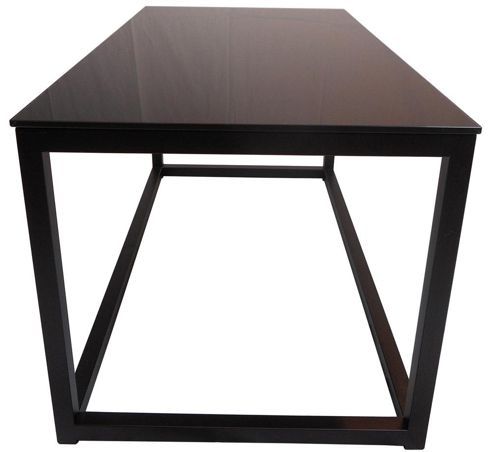 Pierre Soffbord 94x47cm Svart Glas Möbler Folkhemmet com