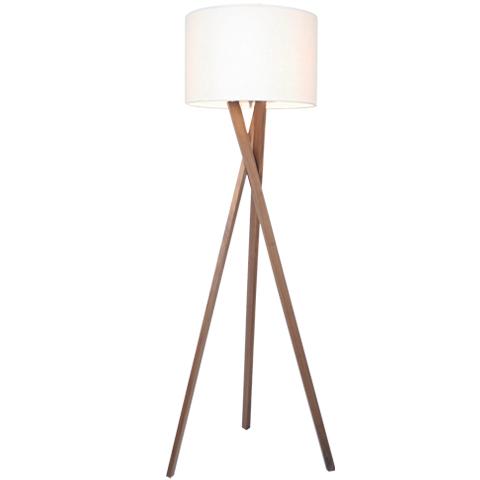 vega golvlampa ek vit golvlampor belysning. Black Bedroom Furniture Sets. Home Design Ideas