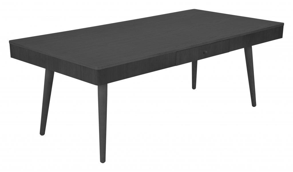 Nils soffbord, rektangulärt med låda, svart Soffbord Bord Möbler Folkhemmet com