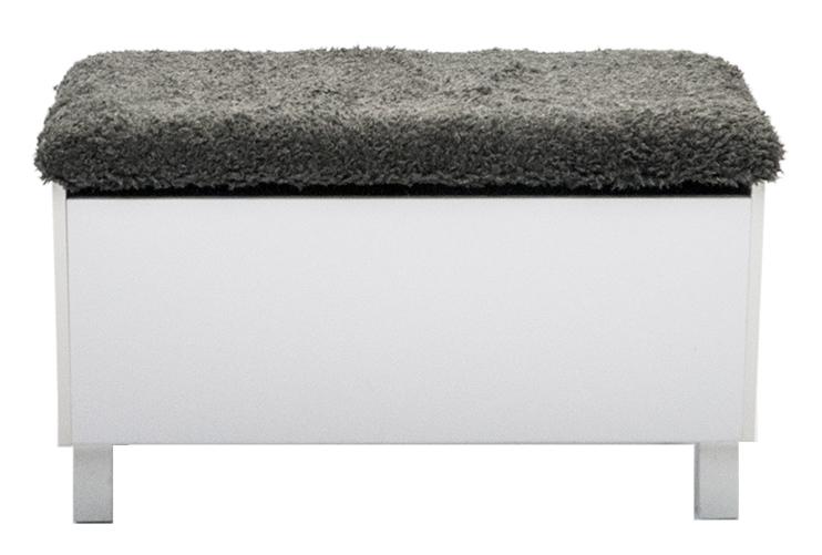 Box Sittbänk med förvaring vit Bänkar Hallmöbler Möbler Folkhemmet com