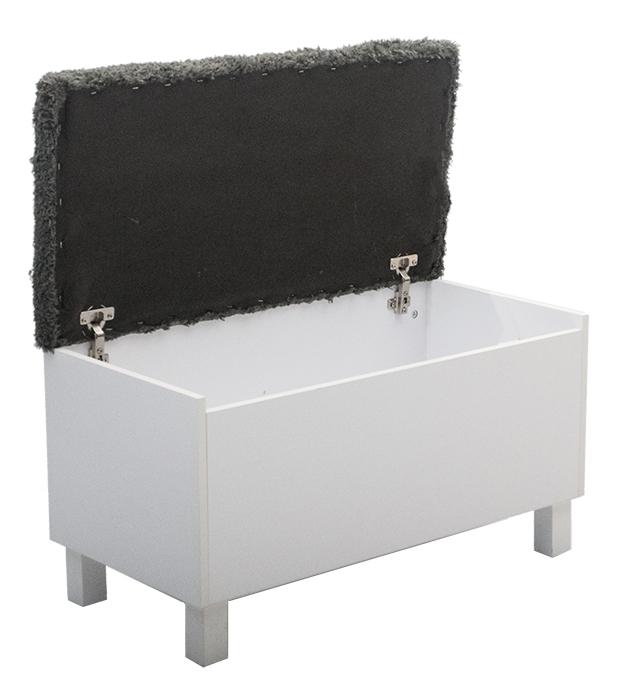 Box Sittbänk med förvaring vit Möbler Folkhemmet com
