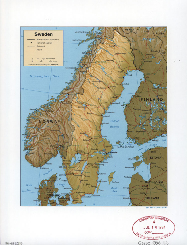 Karta Sverige Fotokonst Tavlor Folkhemmet Com