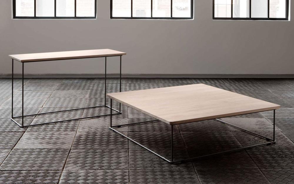 Classic Soffbord 120x120 Oljad Valnöt Möbler