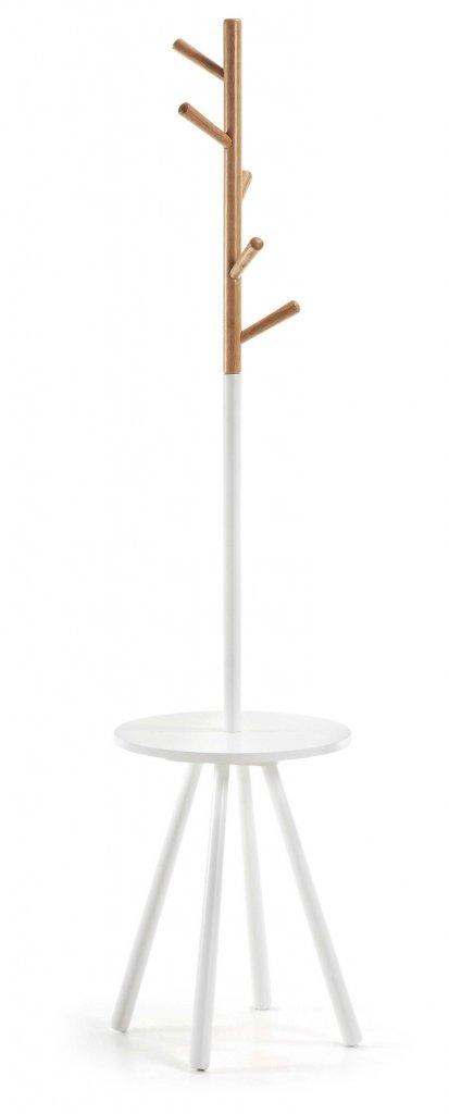 Bren tamburmajor med avställningsbord vit Möbler Folkhemmet com