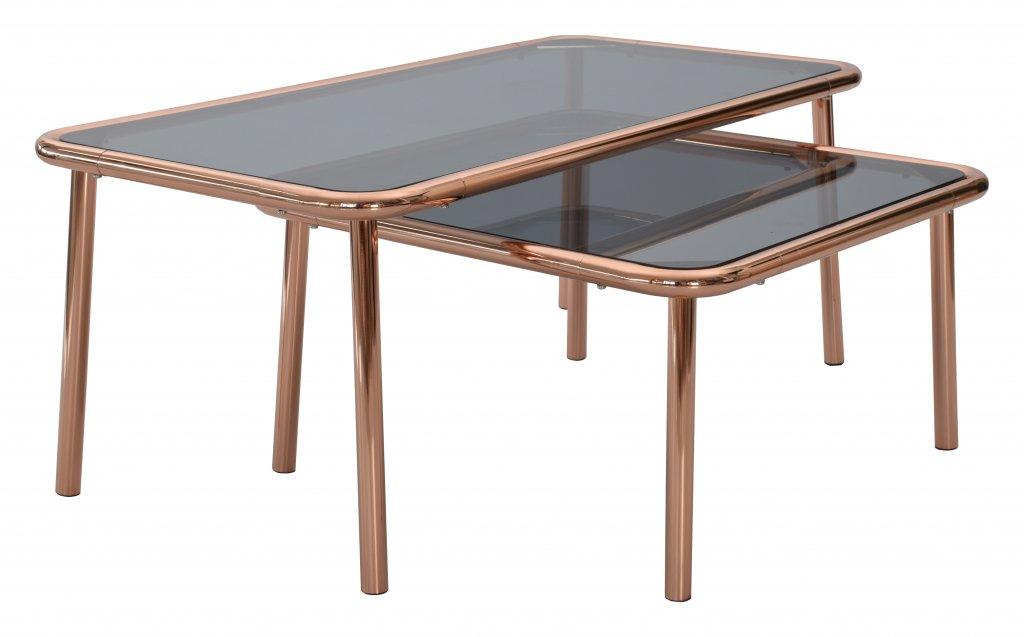 Basic soffbord koppar, rektangulärt Bord Möbler Folkhemmet com