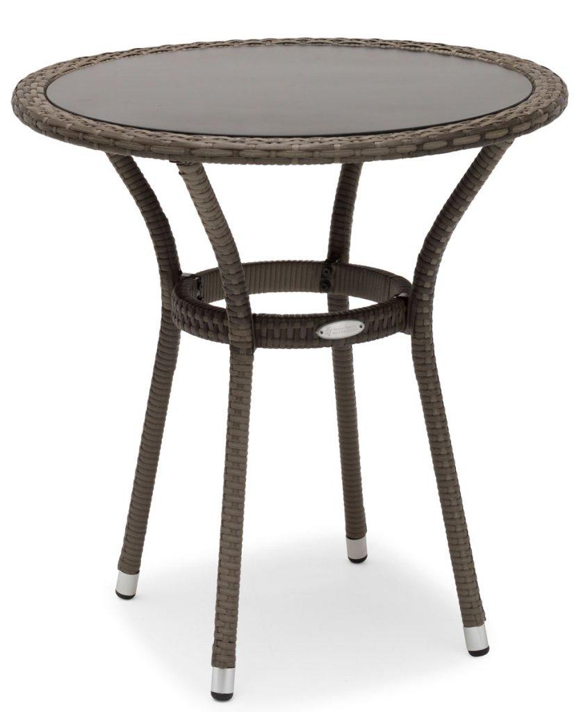 Hillerstorp MADISON bord 70x120 cm Grå Utemöbler