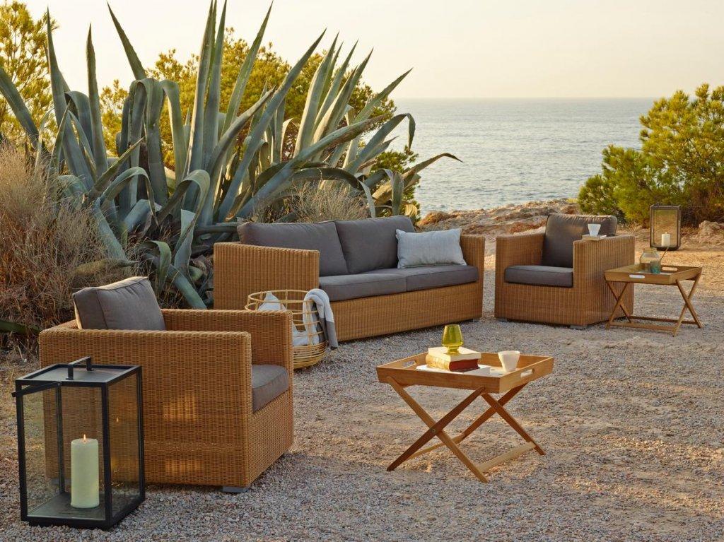 utemöbler lounge soffa