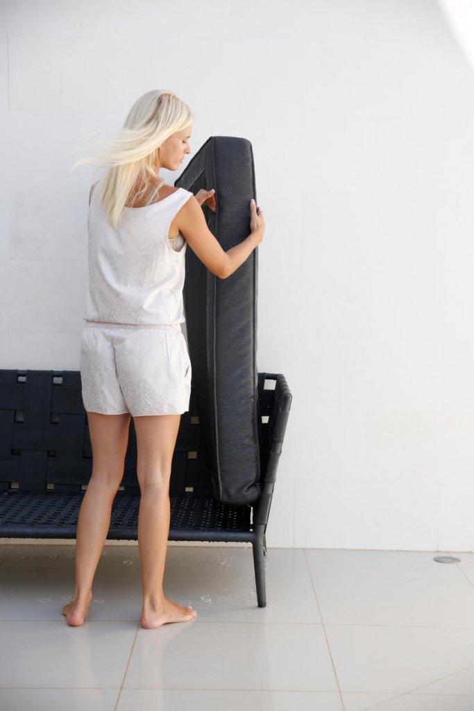 Conic lounge dagbädd modul Grå, Cane line SoftTouch Soffor& Fåtöljer Utemöbler