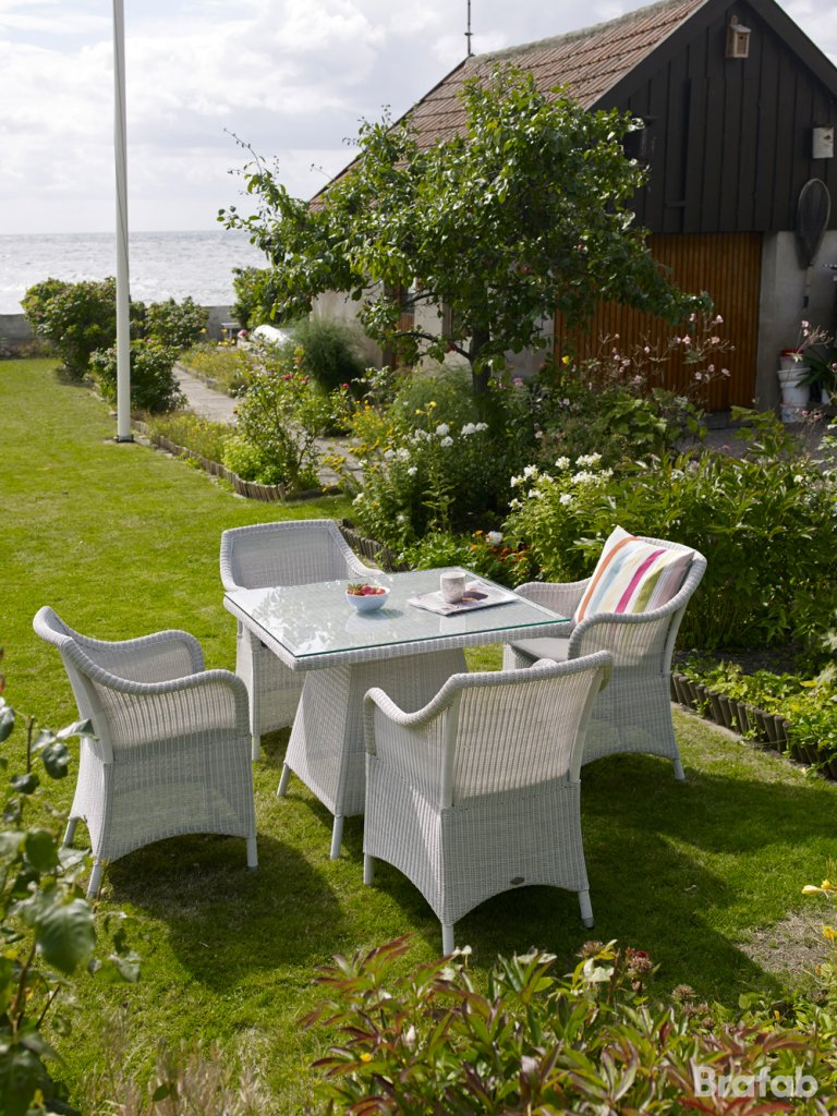 Costa Bord 90×90 Vit Konstrotting Utemöbler Och Trädgårdsmöbler Folkhemmet Com