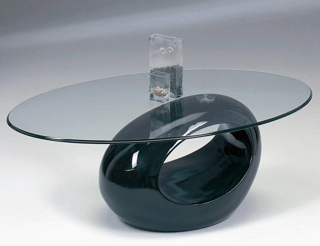 Deggy Soffbord Glas Svart Möbler Folkhemmet com