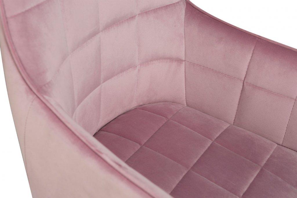 Embrace Karmstol Rosa Dusty Rose Sammet Stolar Möbler