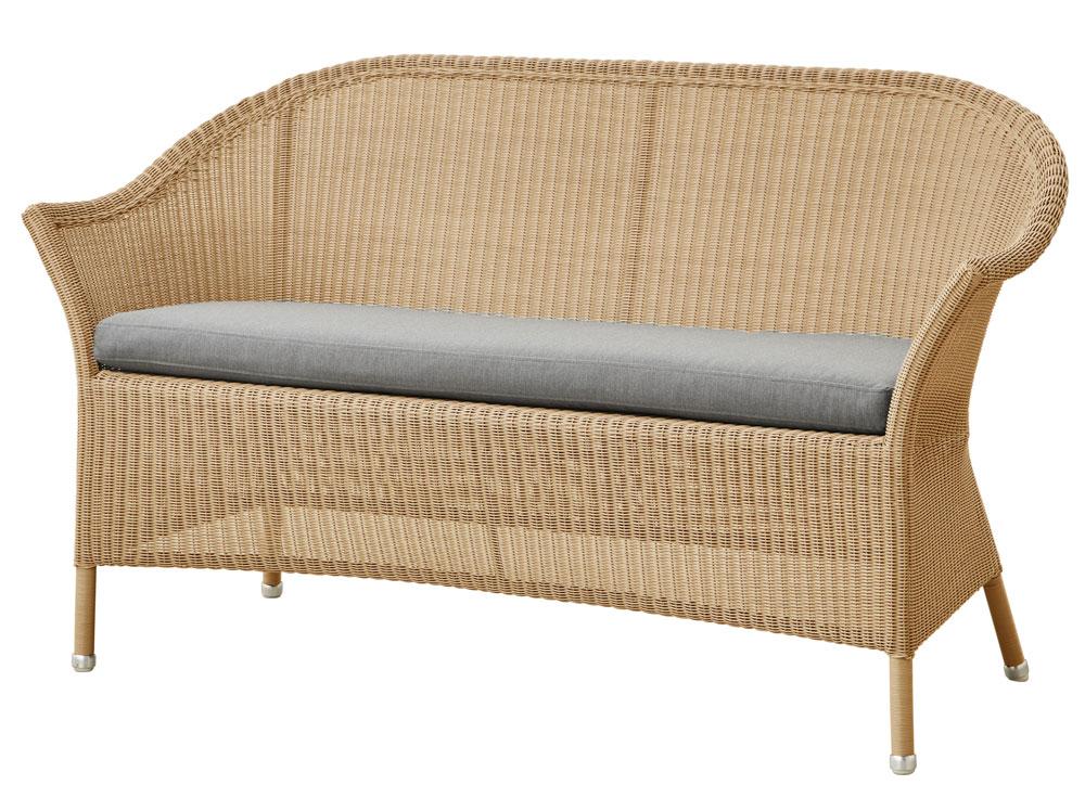 lansing soffa natural cane line varum rken. Black Bedroom Furniture Sets. Home Design Ideas
