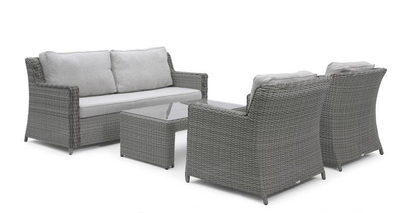 utemöbler 3 sits soffa