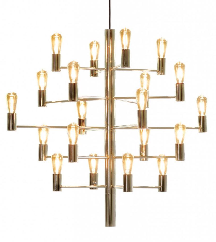 Manola Taklampa 20 LED Golden