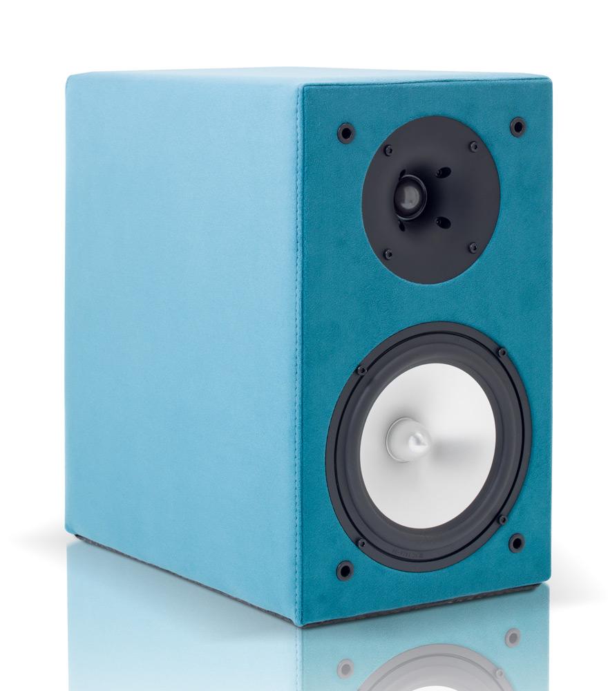 koppla in vintage-högtalare
